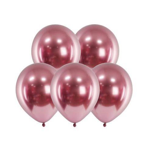 Party deco Balony lateksowe glossy różowe złoto - 30 cm - 50 szt. (5900779109971)