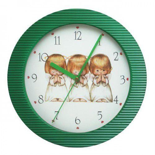 Zegar naścienny kolor Aniołki, ATE98105A