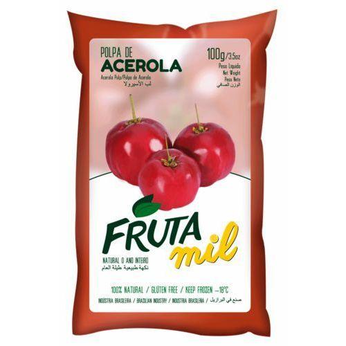 Frutamil comércio de frutas e sucos ltda Acerola wiśnia z barbados miąższ (puree owocowe, pulpa, sok z miąższem) bez cukru (2275801010007)