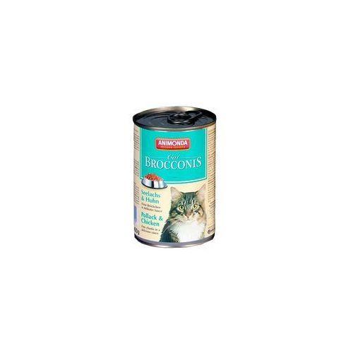 Animonda brocconis cat smak: rdzawiec (ryba) i kurczak 12x400g (4017721833790)