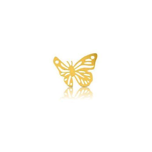 Zawieszka ażurowa motyl, złoto próba 585 marki 925.pl