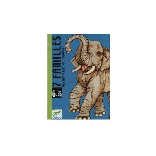 Gra karciana 7 rodzin zwierząt