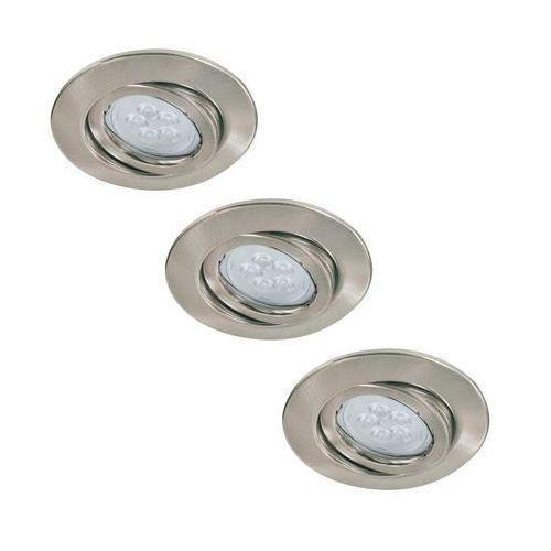 Paulmann 92028 - ZESTAW 3x LED oprawa wpuszczana QUALITY LINE 3xGU10-LED/6,5W (4000870920282)