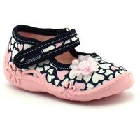 Kapcie dla dzieci Vi-GGa-Mi Ada - Różowy ||Granatowy, kolor różowy