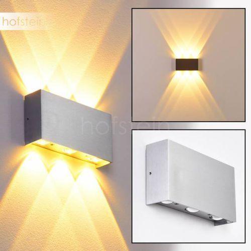 B-Leuchten Lente lampa ścienna LED Aluminium, 6-punktowe - Nowoczesny/Design - Obszar wewnętrzny/Obszar zewnętrzny - Lente - Czas dostawy: od 3-6 dni roboczych (4260303164052)
