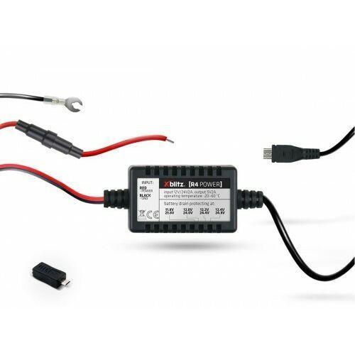 Zasilacz kamery samochodowej XBLITZ R4 Power