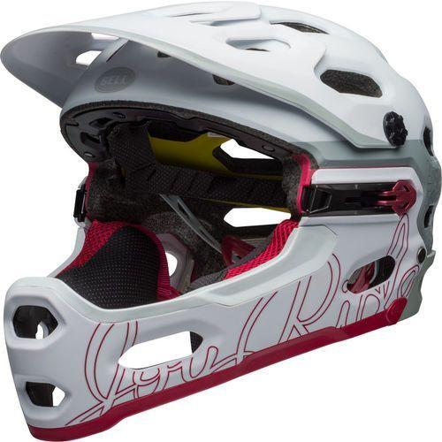 super 3r mips joyride kask rowerowy biały s   52-56cm 2018 kaski fullface i downhill marki Bell