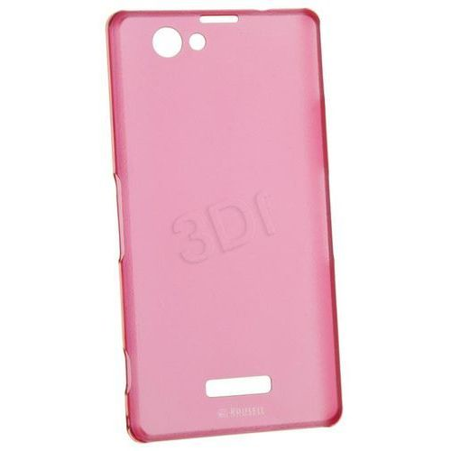 ETUI XPERIA Z1 FROSTCOVER KRUSELL COMPACT PINK 89943/1, kolor różowy