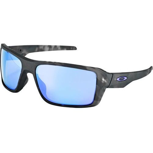 double edge okulary rowerowe czarny/turkusowy 2018 okulary przeciwsłoneczne marki Oakley