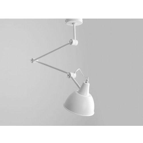Lampa sufitowa na ramieniu ruchomym coben suspension - biały marki Customform