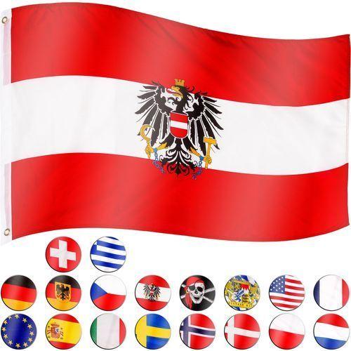 Flagmaster ® Flaga austrii austriacka 120x80 cm na maszt austria - austrii