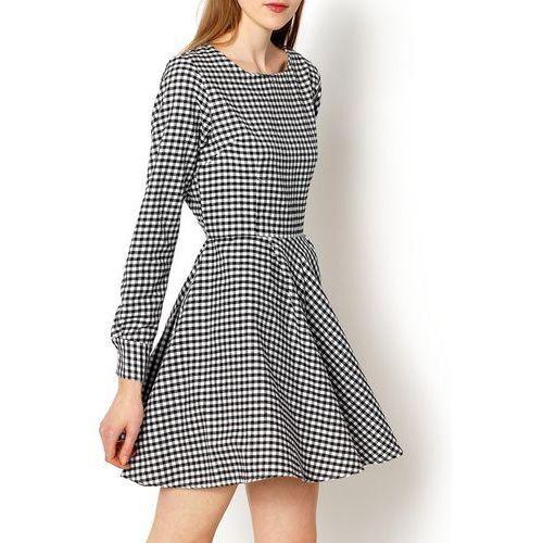 Zoio Rozkloszowana sukienką w kratkę xl+