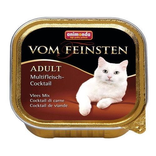 Animonda Vom Feinsten CAT Adult Mix mięs 100g Pakiet