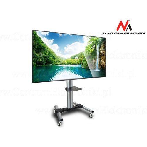 Maclean  profesjonalny stand wózek do telewizora na kółkach mc-620 max 55kg max 600x400 tv