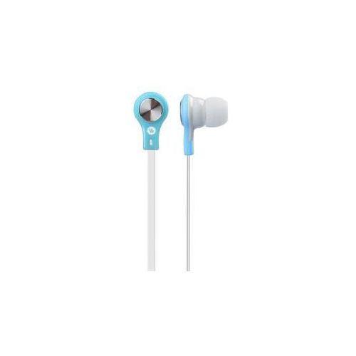 Słuchawki GoGEN EC 21BL (EC 21BL) białe/Niebieskie