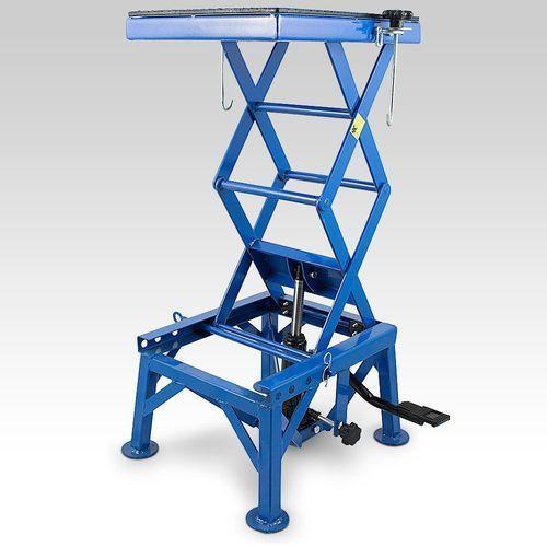 Podnośnik nożycowy hydrauliczny regulacja max 135 kg marki Eu-trade