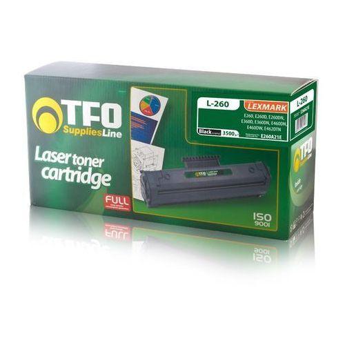 Toner tfo l-260 (e260a11e) 3.5k do lexmark e260, e260d, e260dn, e360d, e360dn marki Telforceone