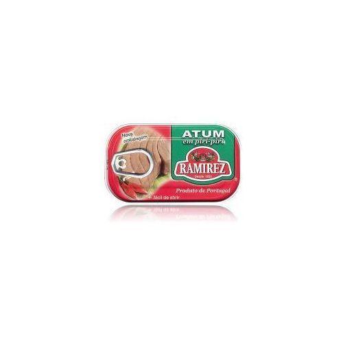 Portugalski stek z tuńczyka pikantny z piri-piri (papryczką chili) 120g marki Ramirez