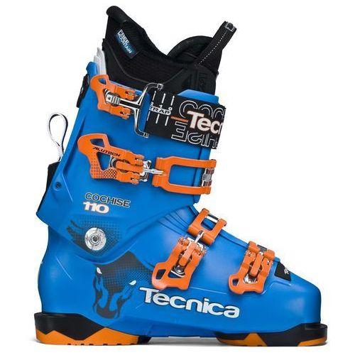 Buty narciarskie cochise 110 niebieski/pomarańczowa 29.5 marki Tecnica