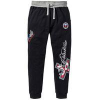 Spodnie joggingowe czarny marki Bonprix