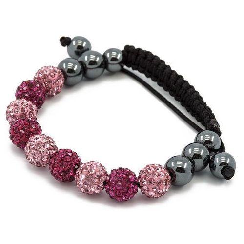 Cloe Bransoletka shamballa exclusive diamonds multi rose - multi rose