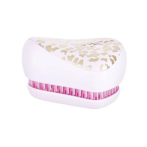 compact styler szczotka do włosów 1 szt dla kobiet gold leaf pink marki Tangle teezer