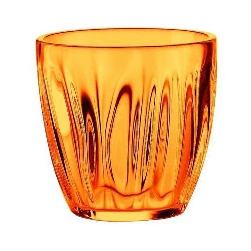 Guzzini - komplet 2 szklanek do wody 0,35 l - aqua - pomarańczowy