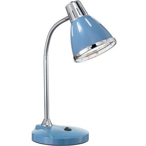 Ideal lux 034409 - lampa stołowa elvis 1xe27/60w/230v niebieska
