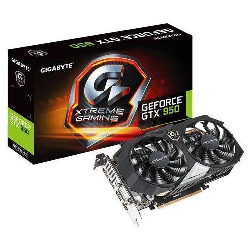 Karta graficzna GIGABYTE GeForce GTX950 2048MB DDR5/128b XTREME - GV-N95OXTREME-2GD