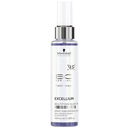Schwarzkopf professional  bc bonacure excellium beautifying spray z srebrnymi pigmentami w celu ożywienia blond i siwych włosów use on 70 to 100% (excl