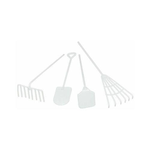 Narzędzia ogrodowe mini 8 x 1 x 1 cm białe do lasu w słoiku (5903039407671)