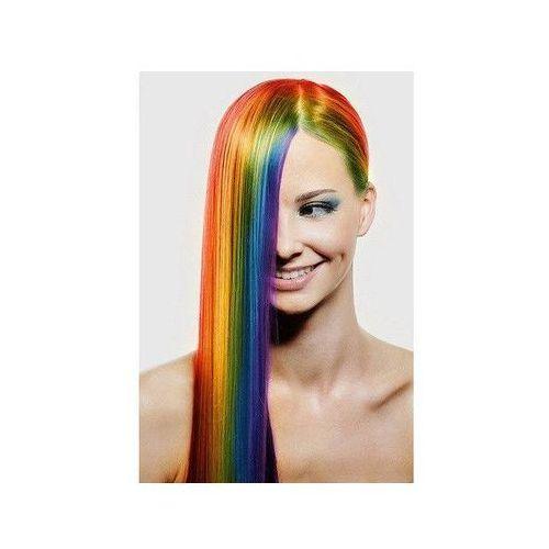Zmywalny kolorowy spray do włosów 125 ml - biały marki Go