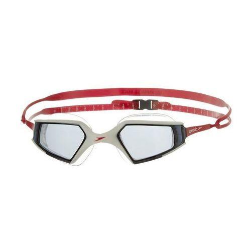 Speedo Okulary do pływania  aquapulse max 8080448139 - biało - czarno - czerwony