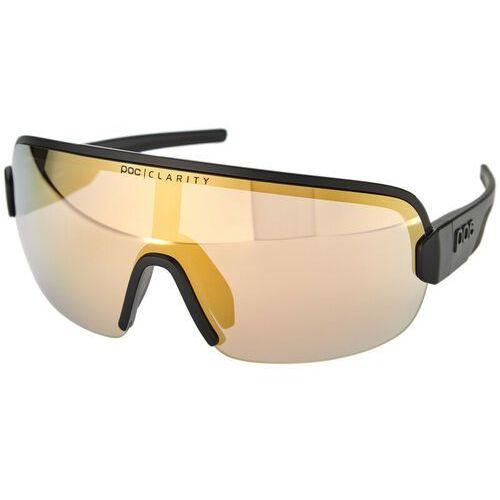Poc aim okulary przeciwsłoneczne, uranium black/gold 2020 okulary sportowe