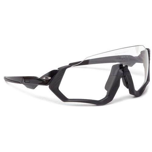 Okulary przeciwsłoneczne - flight jacket oo9401-0737 steel/grey ink marki Oakley