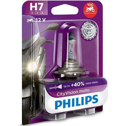 Żarówka Motocyklowa Philips® H7 CityVision Moto | Blister 1 szt.