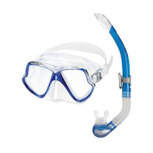 Zestaw do nurkowania set wahoo 11745 niebieski + darmowy transport! marki Mares