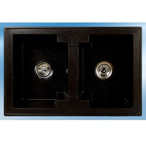 Zlewozmywak cassiopea czarny metalik 08m marki Brenor