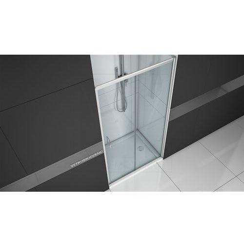 Vetro moderno Drzwi prysznicowe 110 cm rozsuwane vt