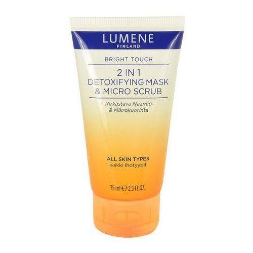 Lumene Bright Touch 2in1 Detoxifying Mask & Micro Scrub 75ml W Peeling