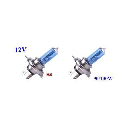 Żarówki (2szt.) Samochodowe H4 (12V) Xenon H.I.D. Blue Vision (moc 100/90W) - Homologowane.