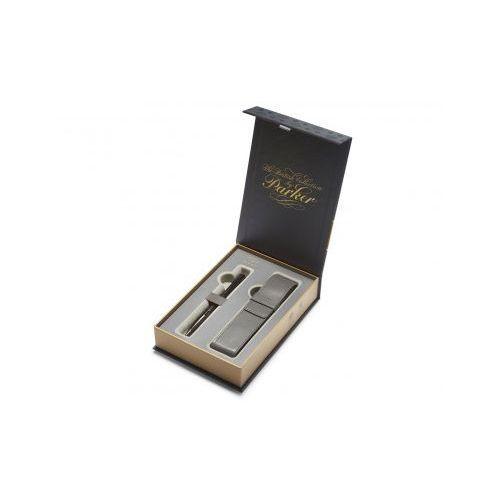 Zestaw Parker Urban Premium Czarny Mat Długopis + Etui (3501179783277)