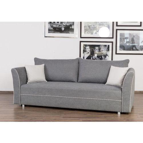 Scandinavian style design Wygodna rozkładana sofa z bokami oskar z funkcją spania 192x146cm