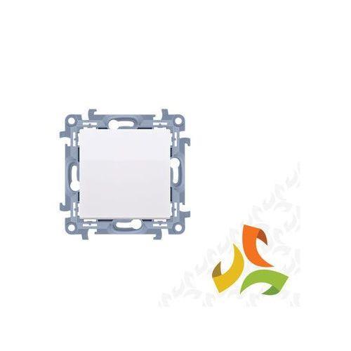 Przycisk bez piktogramu zaciski śrubowe biały cp1.01/11 simon 10 marki Simon kontakt