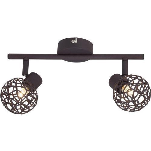 Lampa punktowa Brilliant 02213/20 G9, (DxSxW) 30 x 8 x 14 cm, brązowy (4004353228650)