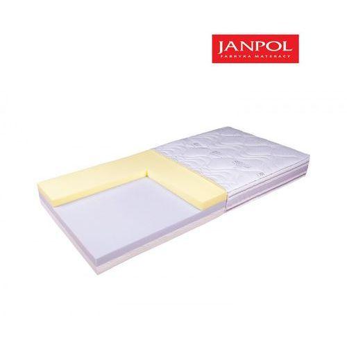 Janpol pulse pure – materac lateksowy, piankowy, rozmiar – 80×190, pokrowiec – jersey standard wyprzedaż, wysyłka gratis marki Materace janpol