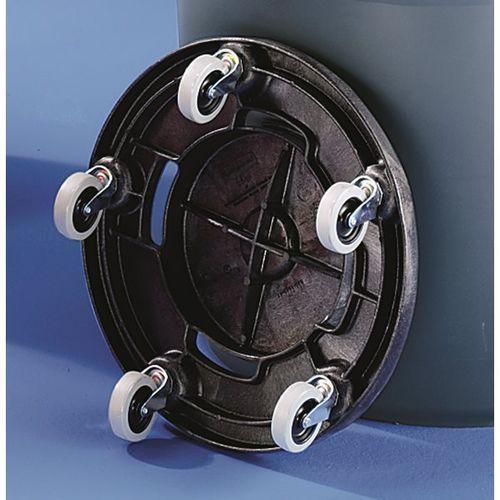 Podwozie do pojemnika uniwersalnego, tworzywo, 5 rolek skrętnych. do wygodnego t marki Newell brands