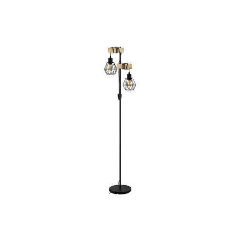 Eglo 43137 - Lampa podłogowa TOWNSHEND 2xE27/60W/230V, THK-071716