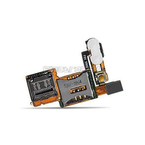 Taśma z czytnikiem kart Sim Sony Ericsson C902