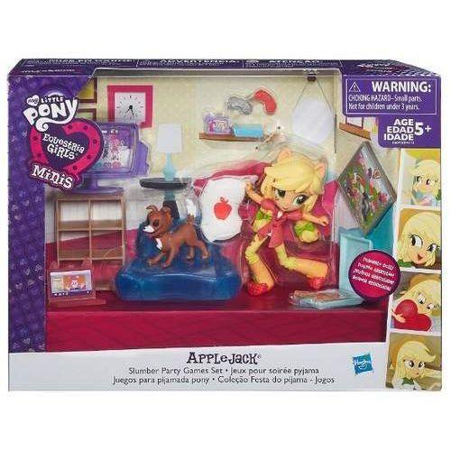 Hasbro  my little pony, equestria girls mini zestaw opowieści applejack slumber party (5902002984294)